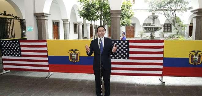 Ministro de Comercio Exterior participó de reunión con vicepresidente de EE.UU. Foto: API