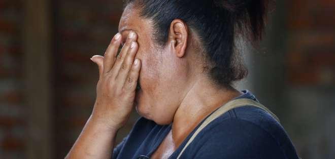 El hijo de Elisa Ceballos, de 19 años, estudiaba el primer año de Electromecánica en la universidad cuando fue asesinado. AP