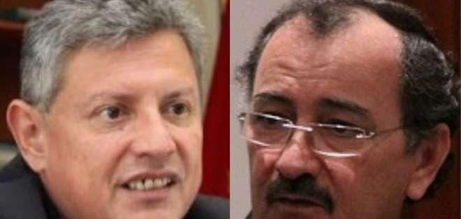 ECUADOR.- Según vocero del Ejecutivo, en reunión Moreno-Pence se pidió extradición de 44 personas. Collage: Ecuavisa