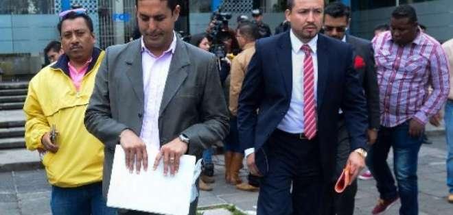 QUITO, Ecuador.- El alcalde de Esmeraldas recibió informe del perito cuando fue ministro de Justicia. Foto: Twitter