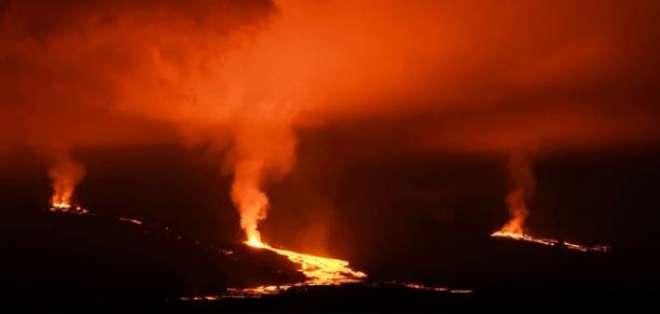 Monitorean al Sierra Negra para evitar daños al ecosistema. Foto: AFP