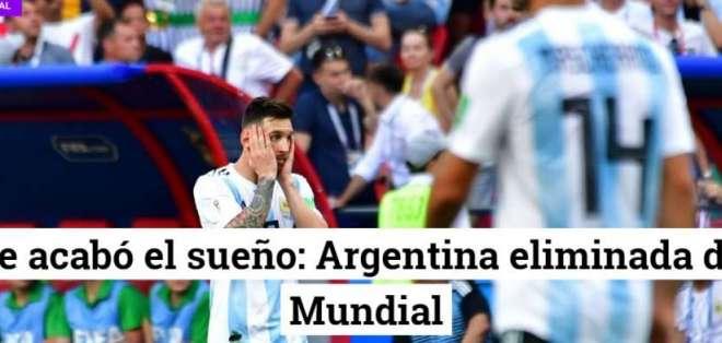 Portada diario Crónica. Foto: Captura de pantalla