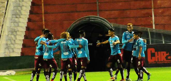 Los 'morlacos' superaron 1-0 al Técnico Universitario en Ambato. Foto: API