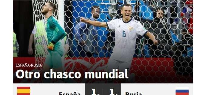 Portada de diario AS. Foto: Captura de pantalla