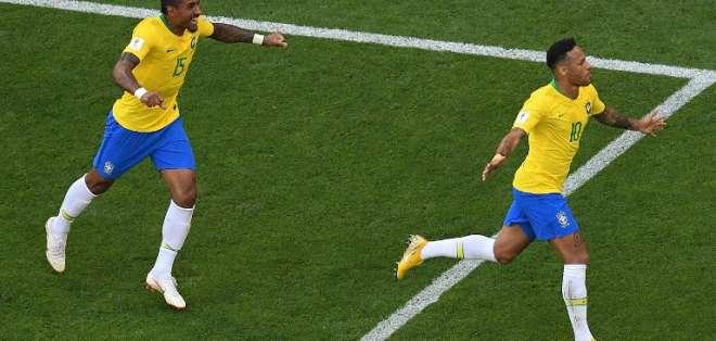 Los brasileños se enfrentarán ante el ganador de Bélgica-Japón. Foto: Kirill KUDRYAVTSEV / AFP