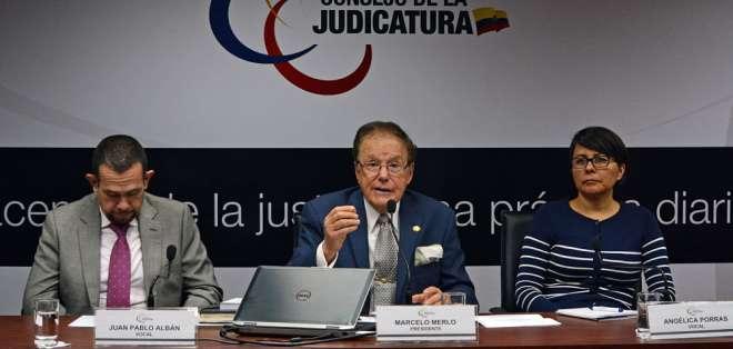Representantes de la Judicatura, la Fiscalía y la Defensoría Pública mantuvieron reunión. Foto: API