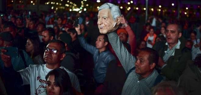 López Obrador deberá tejer alianzas en un país dividido. Foto: AFP