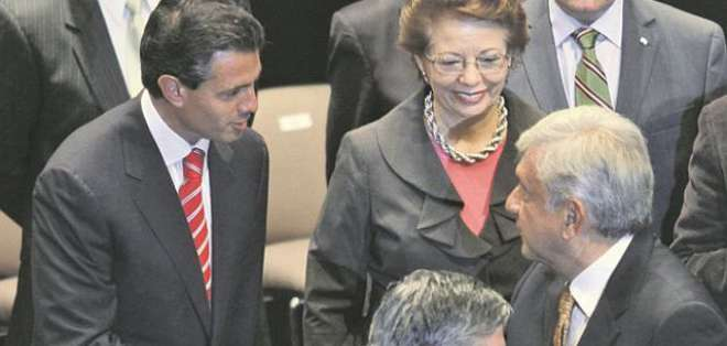MÉXICO.- Enrique Peña Nieto llamó a López Obrador para felicitarlo y le ofreció apoyo. Foto: Agencias