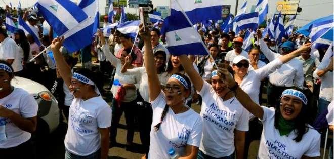 Lo que empezó como una protesta terminó convirtiéndose en un verdadero alzamiento contra Daniel Ortega.