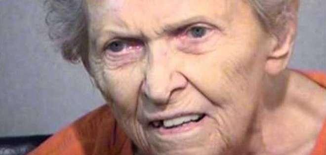 Anna Mae Blessing mató a su hijo de dos disparos tras una discusión.
