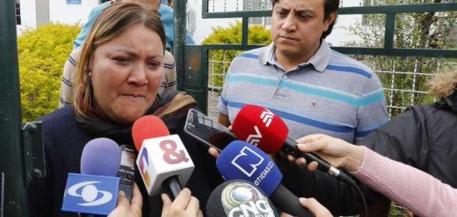 Restos de Óscar Villacís y Katty Velasco llegarán la mañana del viernes a Santo Domingo. Foto: Twitter @Justicia_Ec