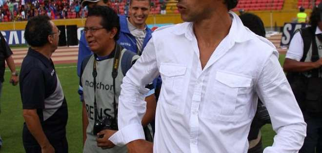 Deportivo Quito contrató a Marcelo Fleitas en el 2016 por cinco temporadas.
