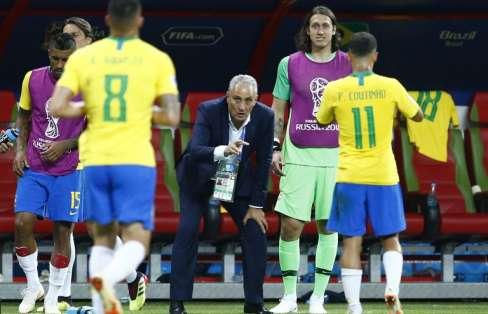 El equipo brasileño era uno de los favoritos para ganar el Mundial. Foto: BENJAMIN CREMEL / AFP