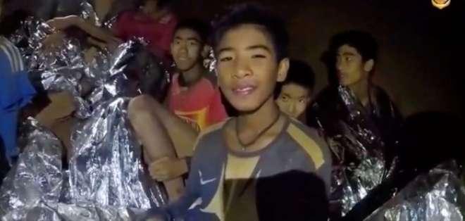 """""""Los chicos no pueden bucear por el momento"""", explicó el gobernador. - Foto: ThaiTV"""
