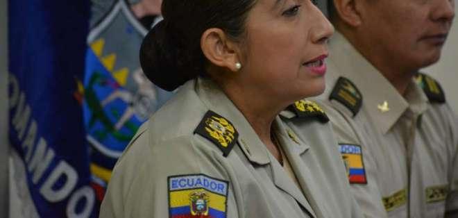 Varela, en su discurso, dijo que Guayaquil es conflictivo, pero no inmanejable. Foto: Ministerio del Interior