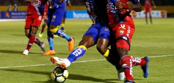 QUITO, Ecuador.- Con este triunfo, Delfín acumula 32 puntos en la tabla. Foto: API - Cristina Vega