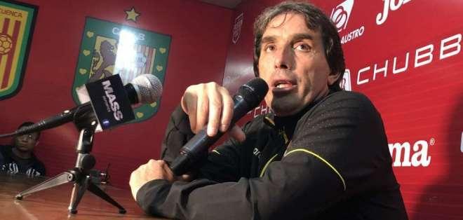 """Almada reconoció que: """"no hay posibilidad de comprar el pase de Luis Caicedo"""". Foto: archivo"""