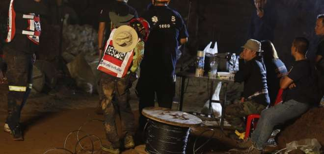 De continuar con este ritmo, las autoridades estiman completar el rescate el martes o miércoles. - Foto: Archivo