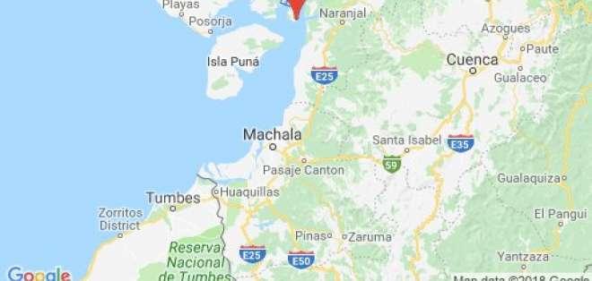 Sismo de magnitud 5.1 se sintió en Guayaquil. Foto: Geofísico