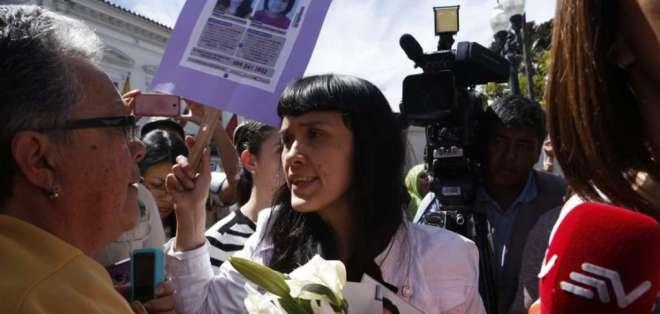Exigen información sobre desaparición de María José Ponce y su hija. Foto: API