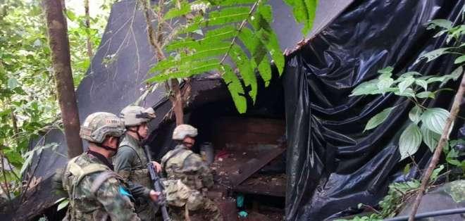 COLOMBIA.- Los equipos contendrían datos de los criminales del grupo del Frente Oliver Sinisterra. Foto: Archivo
