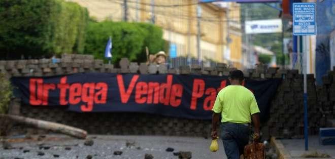 La CIDH cifró en 264 las muertes en la ola de violencia desatada durante casi tres meses de protestas. Foto: AFP