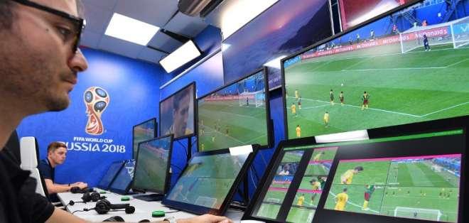 La Conmebol también usará el videoarbitraje para la Copa Libertadores y la Sudamericana. Foto: AFP