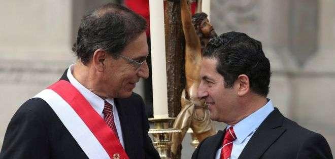 Uno de los efectos más notorios de la difusión de los audios ha sido la renuncia del ministro de Justicia peruano.