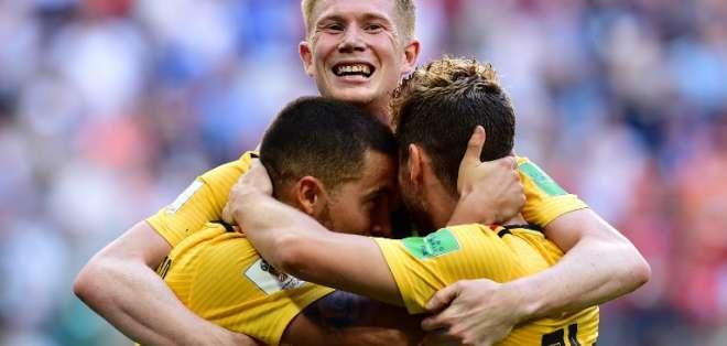 Los 'belgas' consiguen su mejor participación en una copa del mundo. Foto: Giuseppe CACACE / AFP
