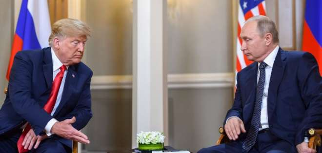 """Trump espera lograr una relación """"extraordinaria"""" con Vladimir Putin. Foto: AFP"""