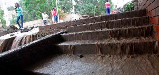La época de lluvias, con frecuencia letal, comienza en abril y termina en noviembre. Foto: EFE