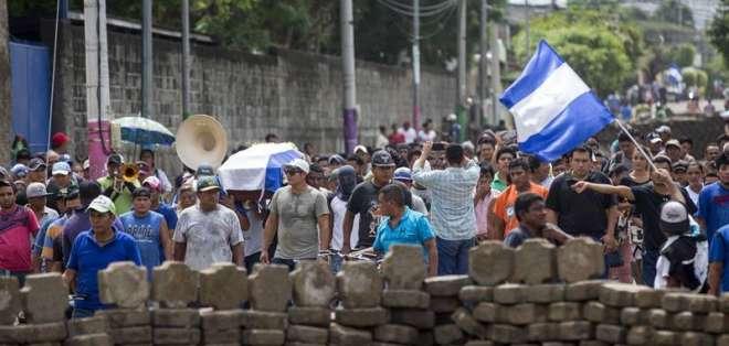 NICARAGUA.- Desde el 18 de abril, unas 280 personas perdieron la vida en una serie de protestas. Foto: EFE