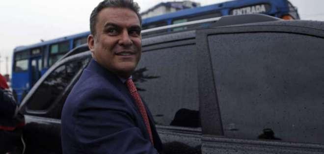 Agentes habrían pedido ayuda a exministro del Interior José Serrano. Foto: API