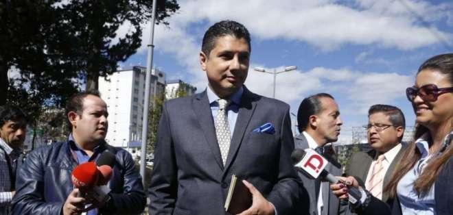 QUITO, Ecuador.- A horas de cerrar la instrucción fiscal, Balda anunció demanda contra el Estado colombiano. Foto: API