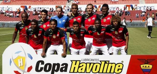 El equipo azuayo recibirá al elenco boliviano a las 17:30 de este jueves. Foto: API