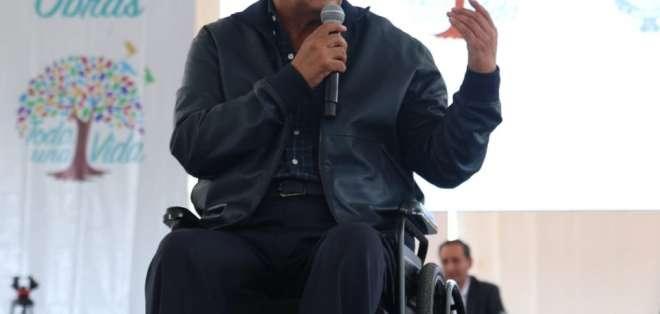 El presidente Moreno resolvería, en última instancia, la situación de Assange. Foto: @ComunicacionEc