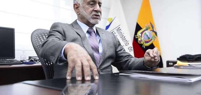 ECUADOR.- El ministro reconoce que aún no ha tenido tiempo de analizar todas las empresas. Foto: Archivo