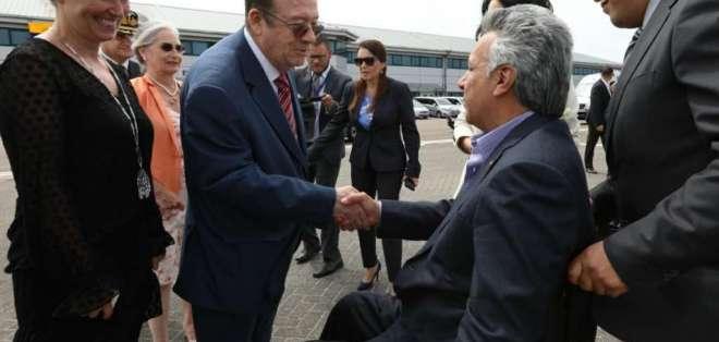 Moreno busca reforzar lazos políticos, comerciales y estratégicos en Europa. Foto: Presidencia Ecuador