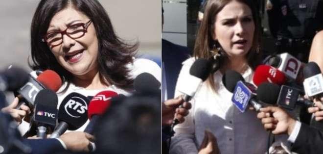 Silvia Salgado acudió a rendir versión por supuesta omisión para investigar corrupción. Foto: Collage API