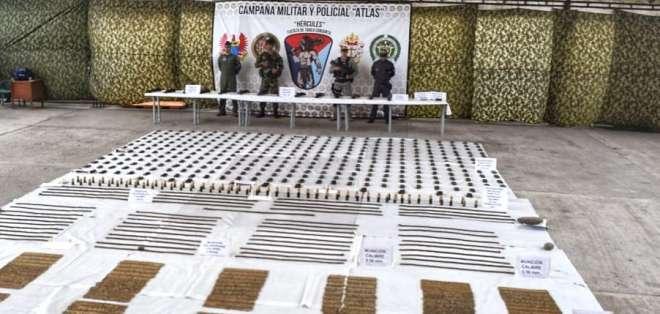"""Esta fue una fuerza tarea llamada """"Hércules"""" operada por el Ejército colombiano. - Foto: Cortesía"""