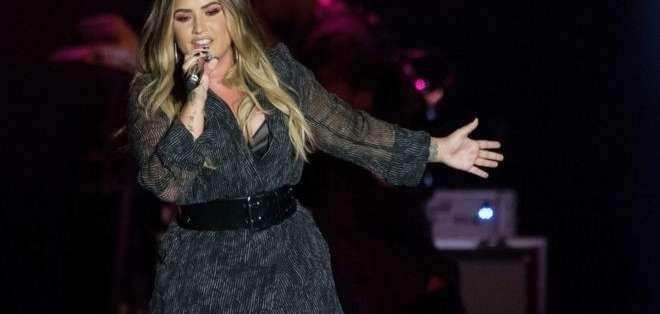 Demi Lovato se encontraba de gira cuando fue ingresada.