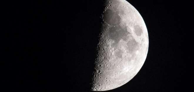 """""""Es una coincidencia de fenómenos interesante"""", indicó un astrónomo. Foto: AFP"""