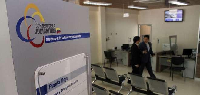 Paola Dávila acusó a otros funcionarios de interferir en la justicia. Foto: Archivo Flickr Judicatura