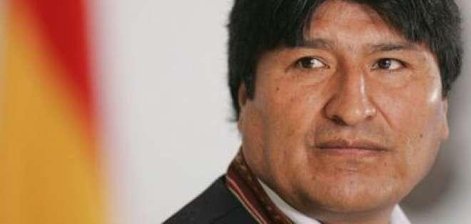 Un sondeo publicado el fin de semana reveló que Morales stá empatado en intención de voto. - Foto: Pulso