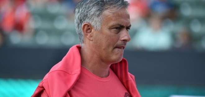 CARSON, EE.UU.- José Mourinho previo al partido contra el AC Milan el 25 de julio del 2018. Foto: AFP