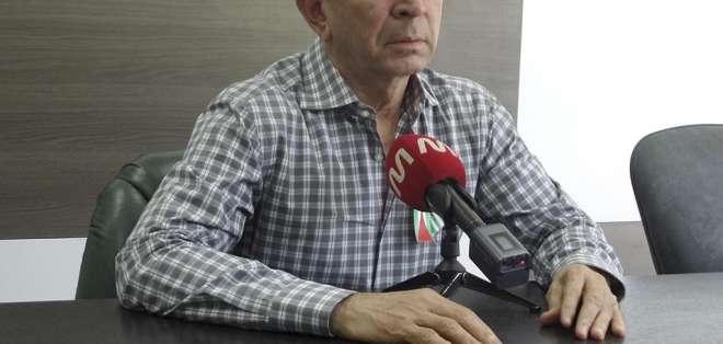 Mariano Zambrano presentará defensa ante Contraloría, que lo sancionó con destitución. Foto: eldiario.ec