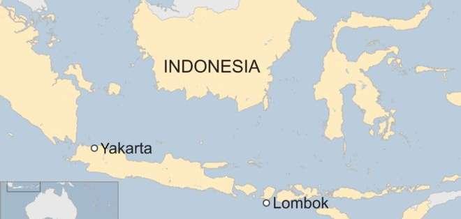 Un poderoso terremoto de magnitud 7 sacudió la isla de Lombok.