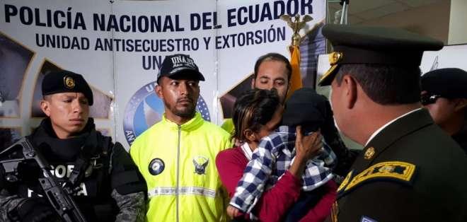 Ecuador y Colombia coordinan rescate de niño venezolano. Foto: Fiscalía