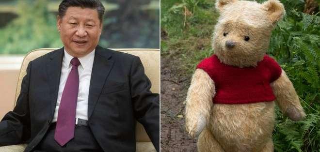 Las comparaciones entre el presidente Xi Jinping y Winnie the Pooh se hicieron virales en las redes sociales chinas desde 2013.