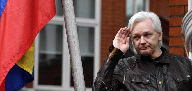 INGLATERRA.- El asutraliano se encuentra asilado en la embajada de Ecuador en Londres desde 16 de agosto de 2012. Foto: Archivo